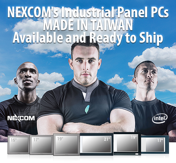 No fear of the COVID-19 virus disrupting the supply chains – NEXCOM MIT Panel PC shipments are ready for you